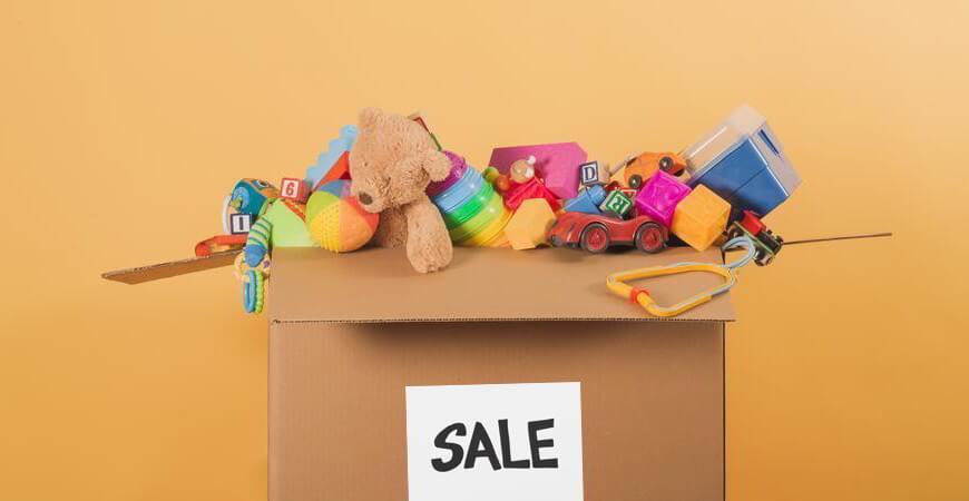 vender juguetes por Internet