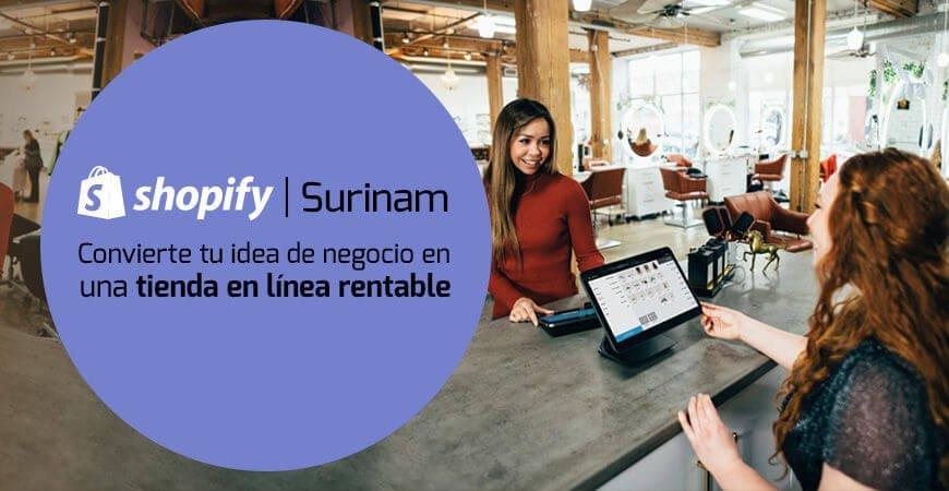 Shopify Surinam