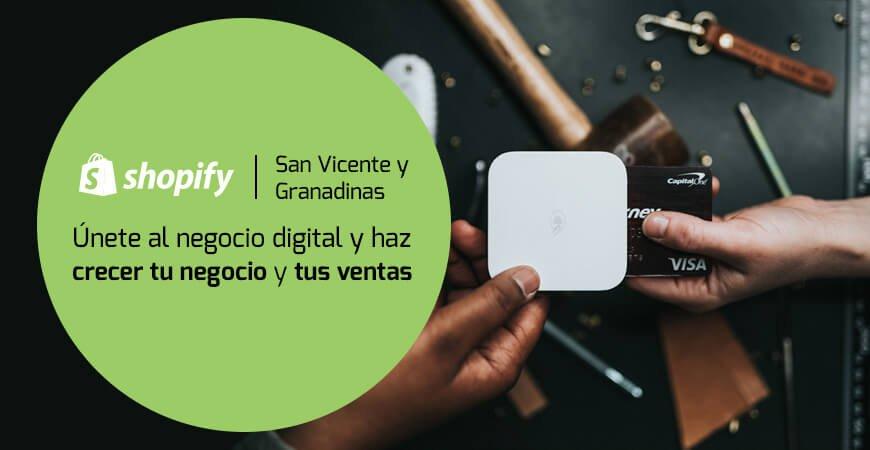 Shopify San Vicente y Granadinas