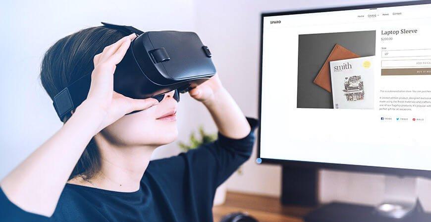 Shopify AR, realidad virtual en el ecommerce, realidad aumentada en el ecommerce, IoT para ecommerce