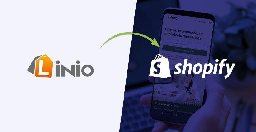 migrar Linio a Shopify